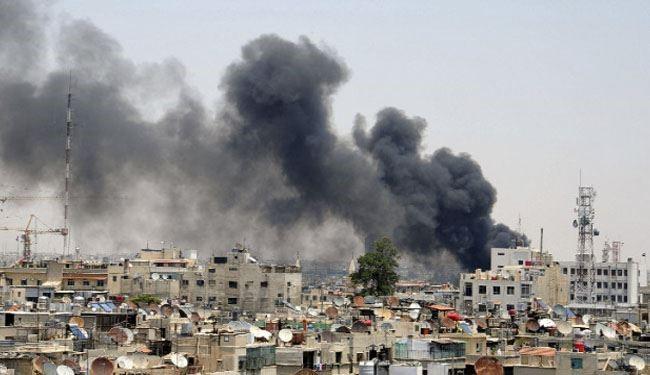 Huge blast rocks Damascus airport