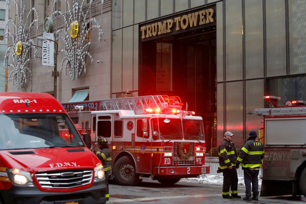 New-York-Fire-Department-crew-respond-after-a-fire-broke-out-at-Trump-Tower-in-Manhattan-New-York