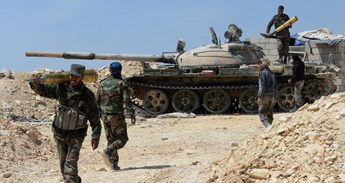 SAA-tank-in-rural-Hama