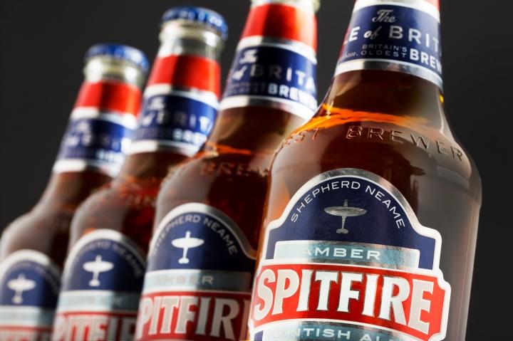 Spitfire Amber Kentish Ale 500ml bottle (5)