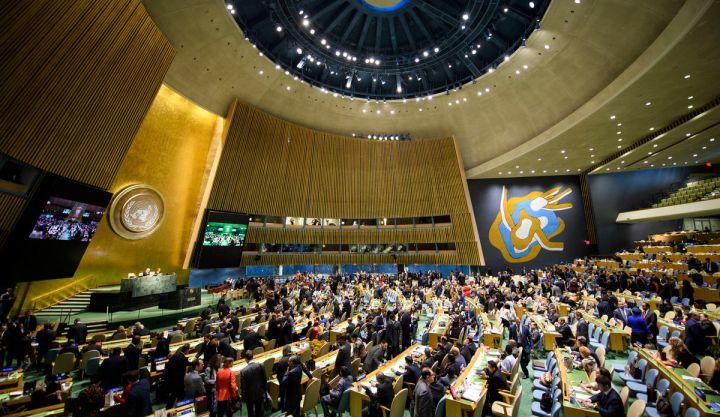 Election of five non-permanent members of the Security Council