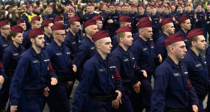 Border hunter recruits