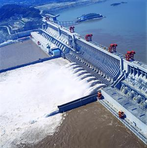 China's Three Gorges Hydro Electric Dam And Power Plant